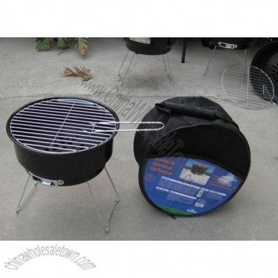Kettle Grill With Cooler Bag