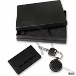 Key Fob/Card Case Leather Gift Set
