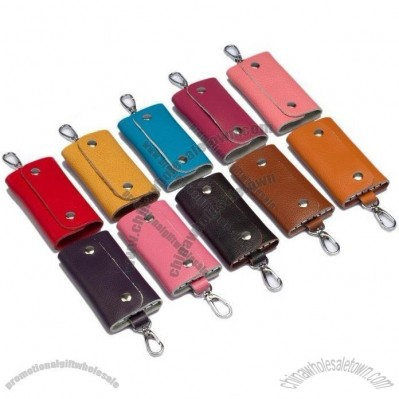 Key Holder Wallet - Genuine Leather Car Keys Holder