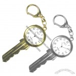 Key Shape Keychain Watch