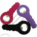 Key Shape Silicone Bottle Opener