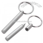 Key holder with mini pen