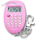Keychain Calculator Pink