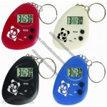 Keychain Mini Clock with Data Display