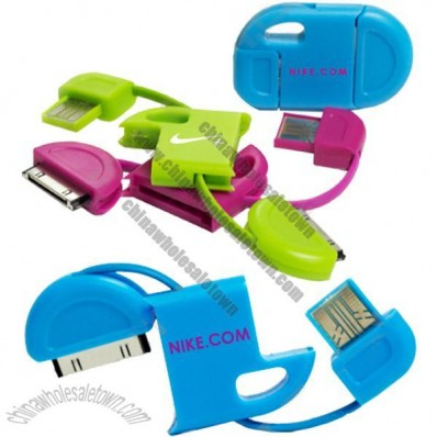 Keychain USB iPhone Charger