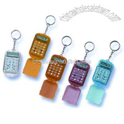 Keychain with Flip cover Calculator