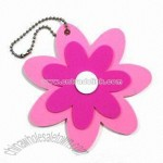 Keychain with Flower Design
