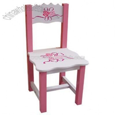 Kid Furniture Wooden Chair