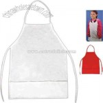 Kid size polyester / cotton twill apron