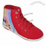 Kids' Boot with PVC Injection Outsole and Canvas Upper