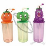 Kids Cartoon Juice Straw Cups