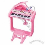 Kids Electronic Piano With A Chair