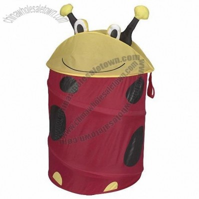 Kid's Laundry Hamper - Dottie Lady Bug