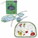 Kid's Melamine Dinner Set with FDA Mark