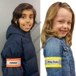 Kids Safety Nylon Armband