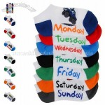 Kids' Toddler Days of Week Socks