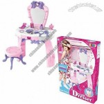 Kids' Toy Dressing Make-up Table
