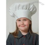 Kids White Chef Hat