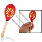 Kids' Wood Percussion Instrument Maracas Shaker Toy Medium