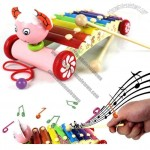 Kids Wooden Animal Xylophone Musical Instruments Toy