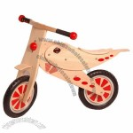 Kids Wooden Bike, Wooden Ride On Toys