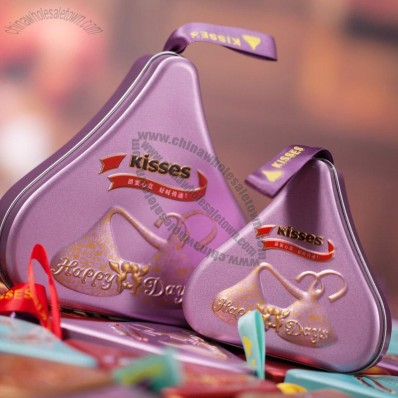 Kisses Chocolate Tin