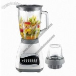 Kitchen Blender with 1.5L Capacity and Ice Crusher, Mixer, Food Processor, Grinder Function
