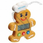 Kitchen Craft Let's Make Gingerbread Man Digital Timer One Hundred Minute
