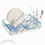 Kitchen Dish Rack with PP Water Tray