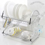 Kitchen Double Layer Dish Rack