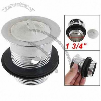 Kitchen Rubber Plug Top Bar Sink Strainer Drain 1 3/4