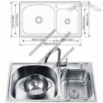 Kitchen Sink with Satin Finish and Limited Lifetime Warranty