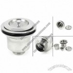 Kitchen Stainless Steel Bar Sink Basket Strainer Kit for 31mm Drain Hole