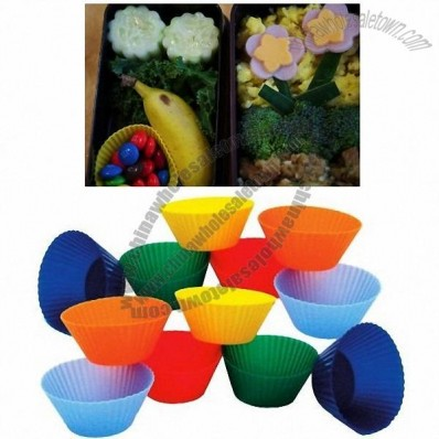 Kitchen Supply 1-7/8-Inch Mini Muffin Silicone Baking Cups