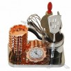 Kitchen Tools Desk Clock