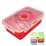 Kitchen Ware Rectangle Silicone Food Steamer