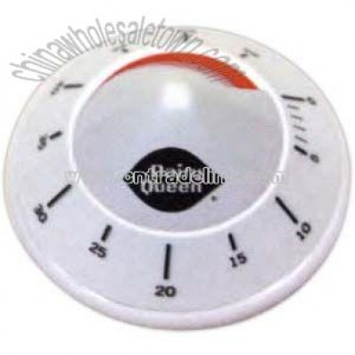 Kitchen timer in shape of cone