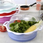 Kitchen vegetable and fruit Drain Basket