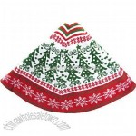 Knitted Christmas Tree Tree Skirt