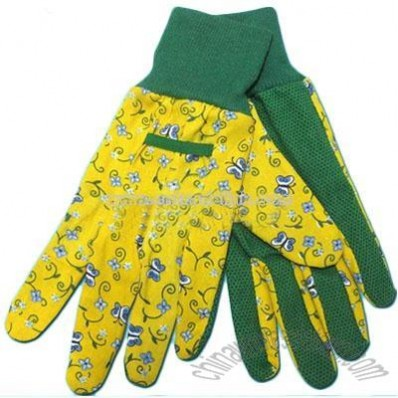 Knitted Garden Gloves