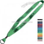 Knitted cotton lanyard