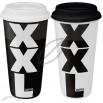 Konitz Large XXL Black/ XXL White Travel Mugs