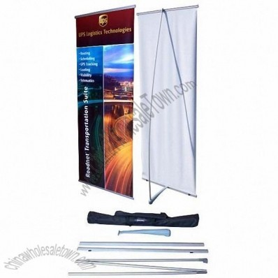 L Banner Stand - 33