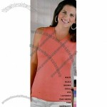 L.A. T Sportswear Ladies Sleeveless T-Shirt
