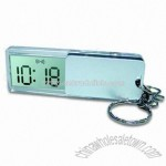 LCD Alarm Clock with Keychain