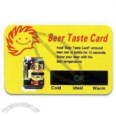 LCD Beer Thermometer