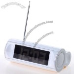 LCD Digital Alarm Clock with FM Radio, Touch Key and Speaker Function
