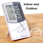 LCD Digital Thermometer/Hygrometer