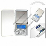 LCD Digital Weight Scale with Transparent Rind Case