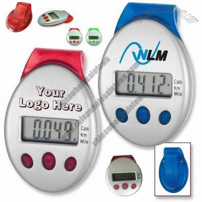LCD Display Pedometer with Belt Clip